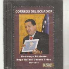 Selos: ECUADOR 2014 - MICHEL NRO. 3578 - HUGO CHAVEZ - USADO. Lote 152902929