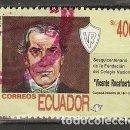 Sellos: ECUADOR.1992. YT 1247. Lote 158967530