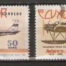 Sellos: ECUADOR.1988. YT 1145,1149. Lote 158967822