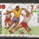 Sellos: ECUADOR.1986 YT 1121. FÚTBOL. Lote 158969790