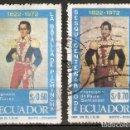 Sellos: ECUADOR.1972. YT 883,885. Lote 158970250