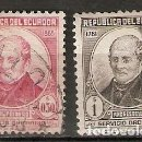 Sellos: ECUADOR.1948. YT 483,485. Lote 158973798