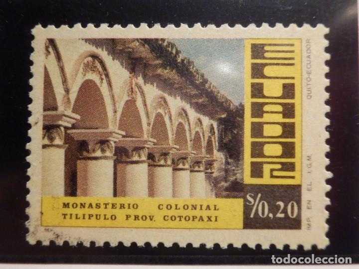 Sellos: LOTE 5 SELLOS - ECUADOR - MONASTERIOS - NUEVOS - Foto 2 - 165136082