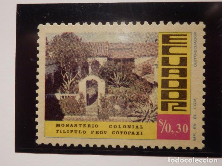 Sellos: LOTE 5 SELLOS - ECUADOR - MONASTERIOS - NUEVOS - Foto 3 - 165136082