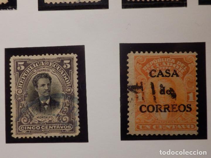 Sellos: COLECCIÓN - LOTE 22 SELLOS ANTIGUOS DE ECUADOR - AÑOS 40´S,50´S - ALGUNOS NUEVOS - Foto 6 - 165136114