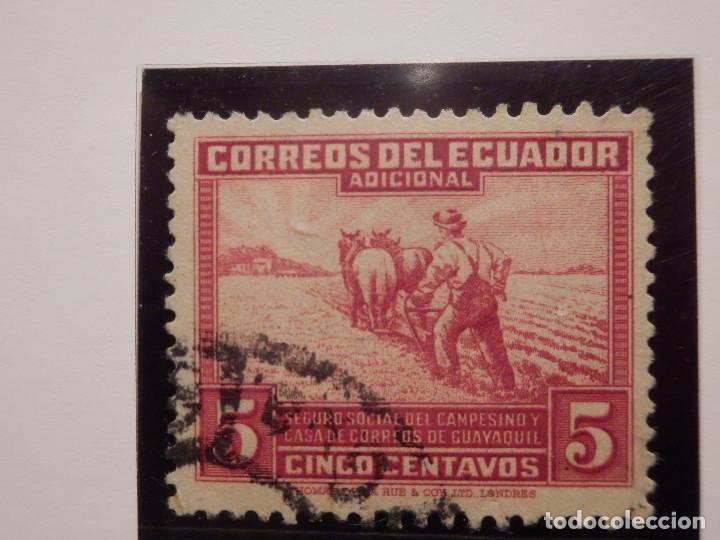 Sellos: COLECCIÓN - LOTE 22 SELLOS ANTIGUOS DE ECUADOR - AÑOS 40´S,50´S - ALGUNOS NUEVOS - Foto 11 - 165136114