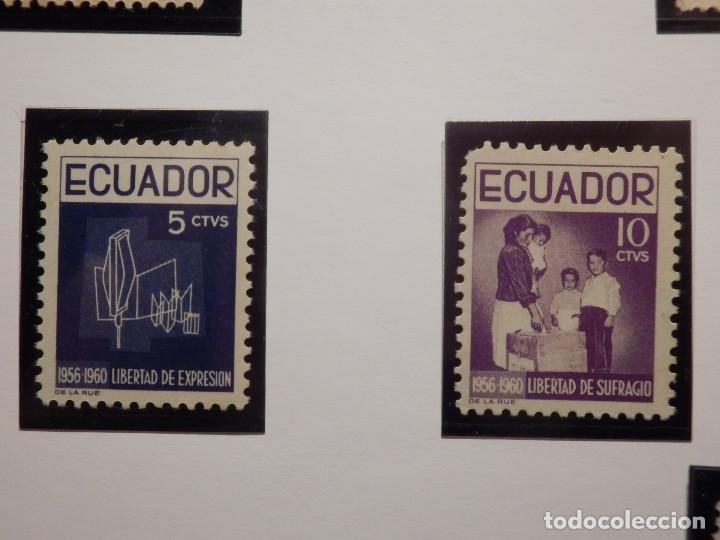 Sellos: COLECCIÓN - LOTE 22 SELLOS ANTIGUOS DE ECUADOR - AÑOS 40´S,50´S - ALGUNOS NUEVOS - Foto 13 - 165136114