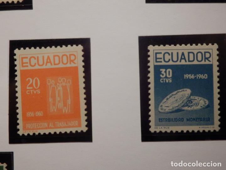 Sellos: COLECCIÓN - LOTE 22 SELLOS ANTIGUOS DE ECUADOR - AÑOS 40´S,50´S - ALGUNOS NUEVOS - Foto 14 - 165136114