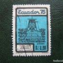 Sellos: ECUADOR, 1975 JUEGOS DEPORTIVOS ECUATORIANOS, CORREO AEREO. Lote 168794828
