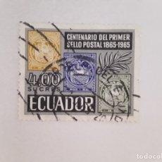 Sellos: ECUADOR SELLO USADO. Lote 176982029
