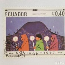 Sellos: ECUADOR SELLO USADO. Lote 176982445