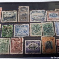 Sellos: SELLOS USADOS DE ECUADOR LOT.E19. Lote 180010695