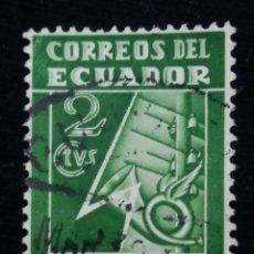 Sellos: CORREO ECUADOR, 2 CENTAVOS, CASA CORREOS Y TELEGRAF, 1935. Lote 180130101