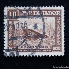 Sellos: CORREO ECUADOR, 10 CENTAVOS, LAS GALAPAGOS, 1935.. Lote 180130966
