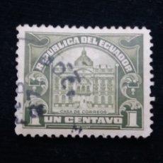 Sellos: CORREO ECUADOR, 1 CENTS, CASA CORREOS,1928.. Lote 180132336