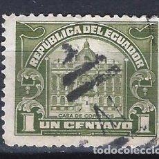 Sellos: ECUADOR 1920 - OFICINA POSTAL DE QUITO - SELLO USADO. Lote 185913737