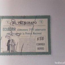 Sellos: ECUADOR SELLO USADO . Lote 186056722