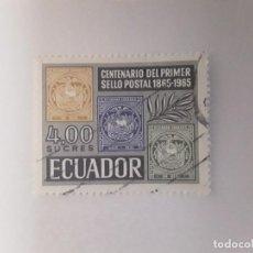 Sellos: ECUADOR SELLO USADO . Lote 186056877
