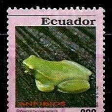 Sellos: ECUADOR SCOTT: 1304-(1993) (RANA DE COCHA) USADO. Lote 189518481