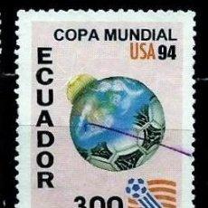 Sellos: ECUADOR SCOTT: 1340-(1994) (FUTBOL, COPA MUNDIAL USA'94) USADO. Lote 189518807