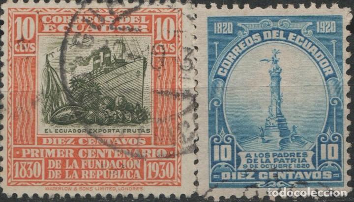 LOTE L-SELLO ECUADOR (Sellos - Extranjero - América - Ecuador)