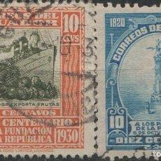 Sellos: LOTE L-SELLO ECUADOR . Lote 195645150