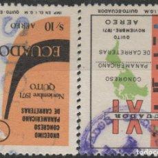 Sellos: LOTE L-SELLOS ECUADOR . Lote 195645756