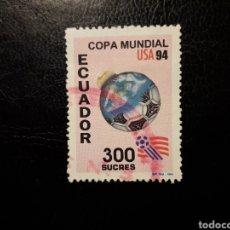 Selos: ECUADOR. YVERT 1300 SELLO SUELTO USADO. MUNDIAL DE FÚTBOL USA 94.. Lote 198831182