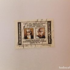 Sellos: ECUADOR SELLO USADO. Lote 199002347