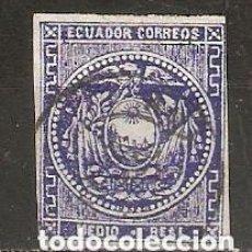 Sellos: ECUADOR.1865-72. YT 1. Lote 200726318