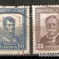 Sellos: CHILE. 1931-32. YVERT Nº 151,152. Lote 200729661