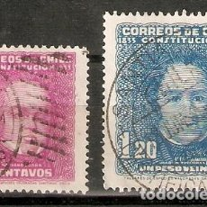 Sellos: CHILE. 1934. YT Nº 153,154. Lote 200729841