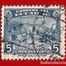 Sellos: ECUADOR. 1943. SEGURIDAD SOCIAL DEL CAMPESINO. Lote 207910356