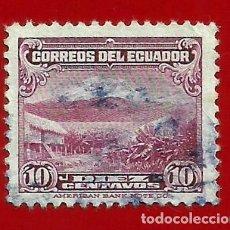 Sellos: ECUADOR. 1944. PAISAJE. VOLCAN. Lote 207910437