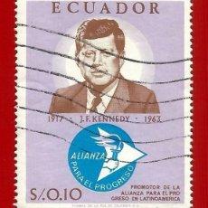 Selos: ECUADOR. 1967. JOHN F. KENNEDY. Lote 208222186