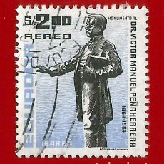 Sellos: ECUADOR. 1967. DR. VICTOR MANUEL PEÑAHERRERA. Lote 208255592