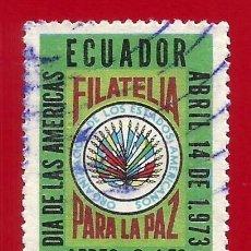 Sellos: ECUADOR. 1973. FILATELIA PARA LA PAZ. Lote 208991530