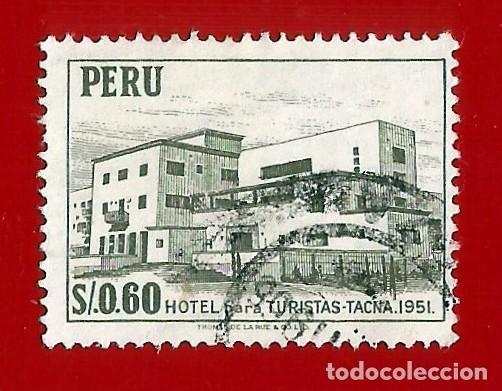 PERU. 1962. HOTEL TURISTICO. TACNA (Sellos - Extranjero - América - Ecuador)