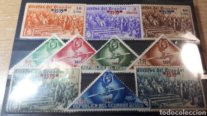 SELLOS USADOSXDE ECUADOR AÑO 1939 W105 (Sellos - Extranjero - América - Ecuador)