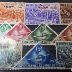 Sellos: SELLOS USADOSXDE ECUADOR AÑO 1939 W105. Lote 215032937