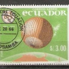 Selos: ECUADOR. AÉREO.1966. Nº 450/452. Lote 215197426