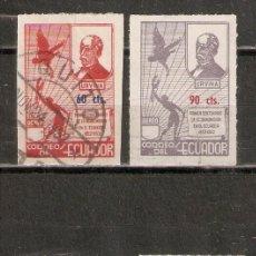 Selos: ECUADOR. AÉREO.1952. Nº 237/40. Lote 216777816