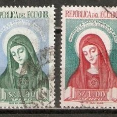 Selos: ECUADOR. AÉREO.1952. Nº 228/31. Lote 216778053