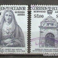 Selos: ECUADOR. AÉREO.1958. Nº 319,320. Lote 216780033