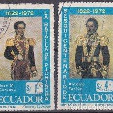 Sellos: LOTE DE SELLOS - ECUADOR - (AHORRA EN PORTES, COMPRA MAS). Lote 221424737