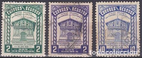 LOTE DE SELLOS - ECUADOR - (AHORRA EN PORTES, COMPRA MAS) (Sellos - Extranjero - América - Ecuador)