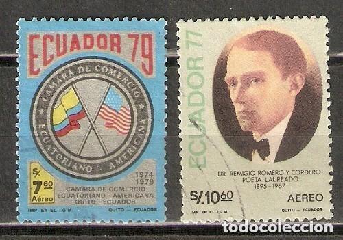 ECUADOR. AÉREO.1979. Nº 677,678 (Sellos - Extranjero - América - Ecuador)