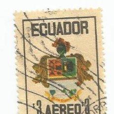 Sellos: SELLO USADO DE ECUADOR DE 1972 YVERT 555 -CORREO AEREO - DIA DE LAS FUERZAS ARMADAS-VALOR 3 SUCRES. Lote 227062815