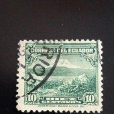 Sellos: ECUADOR 10 CENTS, AÑO 1930.. Lote 245944030