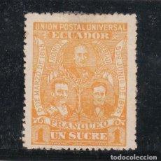 Sellos: ECUADOR ..75 CON CHARNELA. Lote 254907015